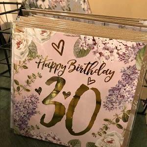 Happy Birthday 30 Pink
