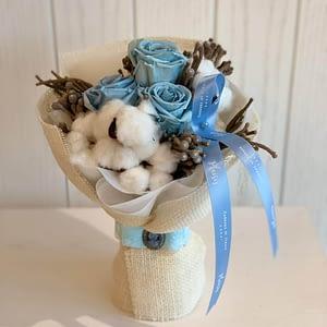 Infinity Bouquet - Sky Blue