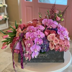VIP Ultra-Luxury with Orchid stems