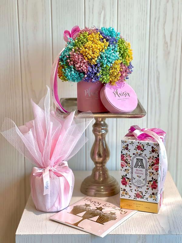 Luxury Pink Birthday Giftset