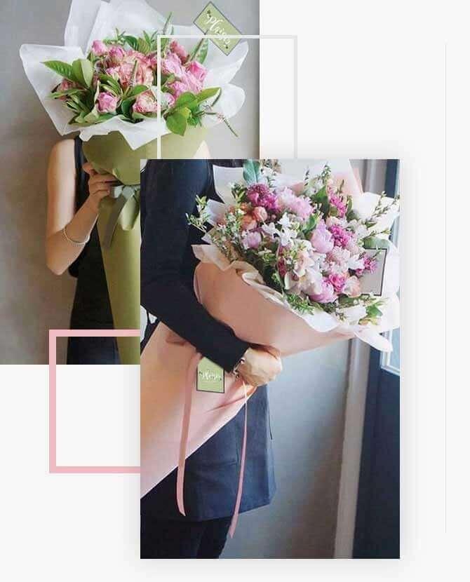 Paper Wrap Fower Bouquet Big | Plaisir Cadeaux et Fleurs