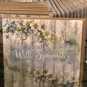 Symphaty Greeting Cards | Plaisir Cadeaux et Fleurs