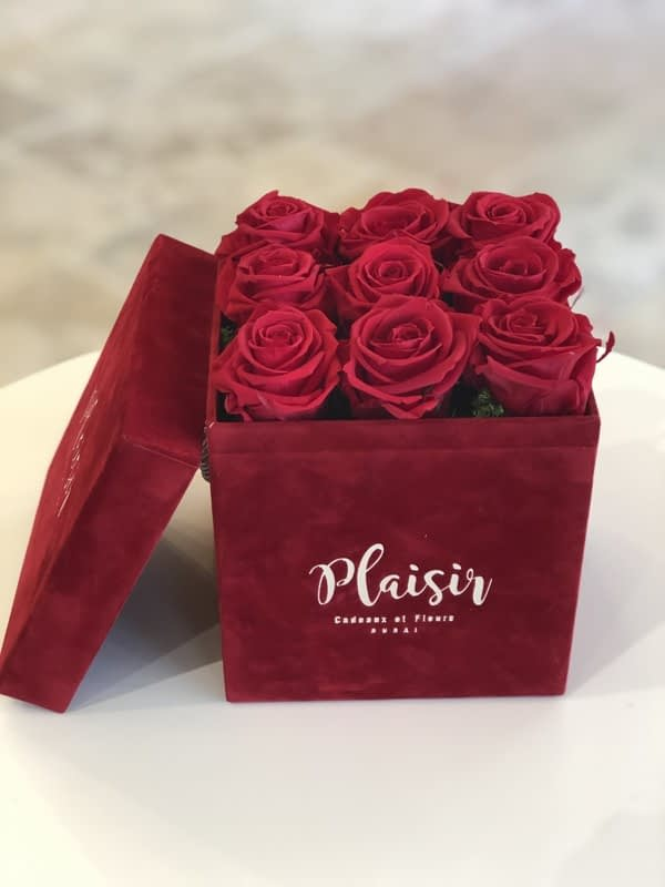 Red Square Red Rose Infiniti Box