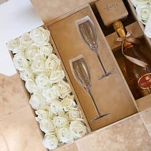 Tan Christofle Celebration Box-Fresh